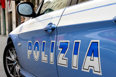 Italian police Stock Images