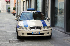 Italian Police Car Stock Images