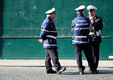 Italian police men Royalty Free Stock Image