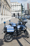 Italian police motorcycles Royalty Free Stock Photos