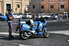 Italian police Royalty Free Stock Photos