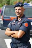 Italian policeman carabinier Stock Images