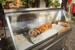 Italian porchetta Royalty Free Stock Photo