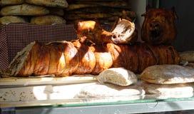 Italian porchetta Stock Photo