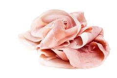 Italian pork ham slices Stock Images