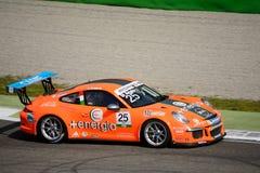 Italian Porsche Carrera 911 Cup at Monza Stock Photography