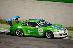 Italian Porsche Carrera 911 Cup at Monza Royalty Free Stock Photo
