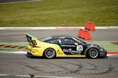 Italian Porsche Carrera 911 Cup at Monza Stock Photos