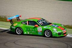 Italian Porsche Carrera 911 Cup at Monza Stock Image
