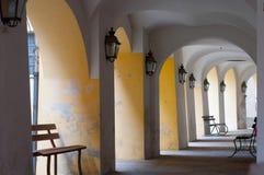 Italian portico Royalty Free Stock Photo