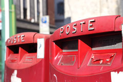 Italian post box Royalty Free Stock Photography