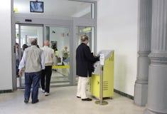 Italian Post office. (Poste Italiane) in Rome, Italy Stock Images