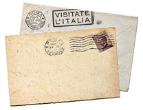 Italian Postcard Stock Photography