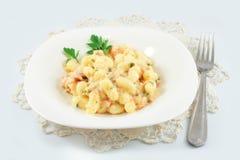 Italian potato noodle Royalty Free Stock Image