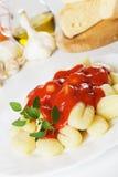 Italian potato noodle, gnocchi di patata Royalty Free Stock Image