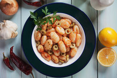 Italian potato noodles Royalty Free Stock Image