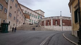 Italian presidential palace stock photos