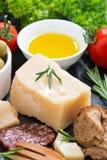 Italian products, vertical, close-up Lizenzfreie Stockfotografie