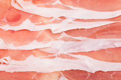 Italian prosciutto crudo Stock Images