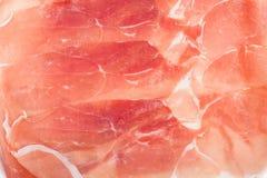 Italian prosciutto crudo ham Royalty Free Stock Image