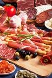 Italian prosciutto Stock Images