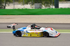 Italian Prototype Osella PA 21 Evo at the Monza 2015 race Royalty Free Stock Image