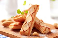 Italian puff pastries Royalty Free Stock Photography