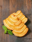 Italian puff pastry biscuits Royalty Free Stock Photos