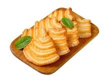 Italian puff pastry cookies Royalty Free Stock Image
