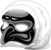 Italian Pulcinella Mask. A Pulcinella's Mask, Napolitan Theater Character royalty free illustration