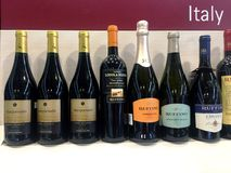 Italian Quality Wines Royalty Free Stock Images