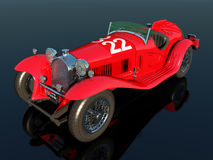 Italian Racing Car Stock Images