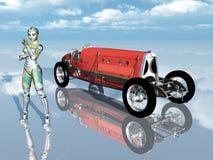 Italian Racing Car Stock Photography