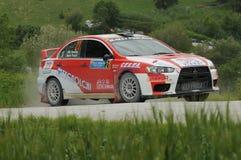 Italian Rally Championship Stock Photos