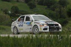 Italian Rally Championship Royalty Free Stock Photo