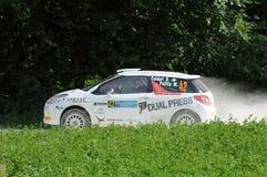 Italian Rally Championship Royalty Free Stock Photography