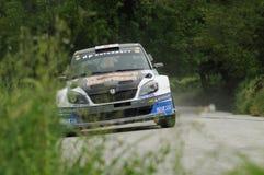 Italian Rally Championship Royalty Free Stock Image