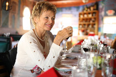 Italian rastaurant Stock Photo