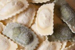 Italian ravioli stock photo