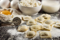 Italian Ravioli Stock Photos