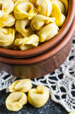 Italian ravioli in jar Stock Photography