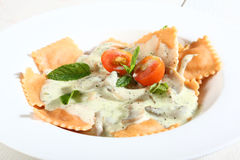 Italian ravioli pasta Royalty Free Stock Image