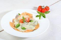 Italian ravioli pasta Royalty Free Stock Photos