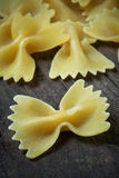 Italian raw pasta Royalty Free Stock Photography