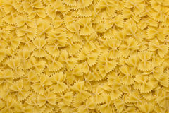 Italian raw pasta  background Stock Photography