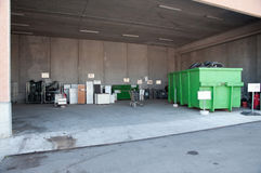 Italian Recycling center (Raee) Stock Photos