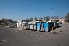 Italian Recycling center (Raee) Stock Images