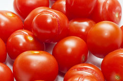 Italian red cherry tomatoe Stock Photo