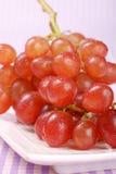 Italian red table grape Stock Photo
