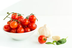 Italian red tomatoes close up Stock Photos